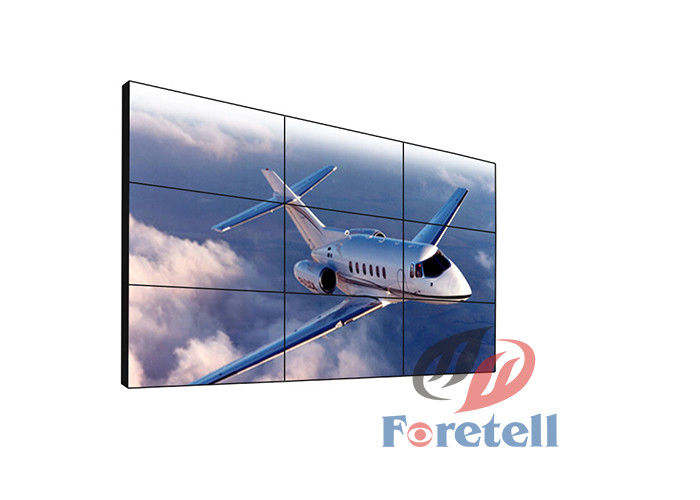 HDMI VGA DVI Port LCD Video Wall System Modern Lcd Wall Panel Low Power Consumption